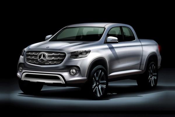 Mercedes-Benz готовит к показу свой первый пикап