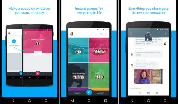 Google Spaces доступен на iOS и Android