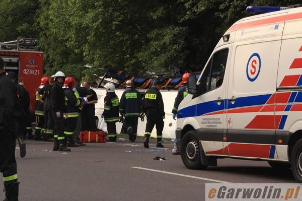 Смертельная авария в Польше