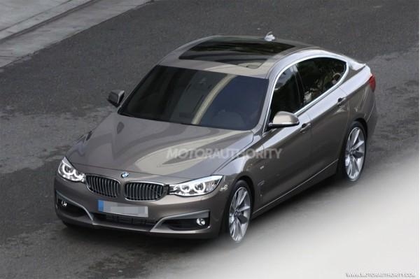 Шпионские фотографии BMW 3-Series GT