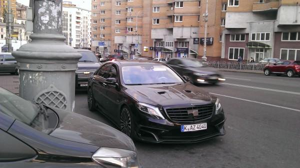 В Киеве заметили 1000-сильный Mercedes