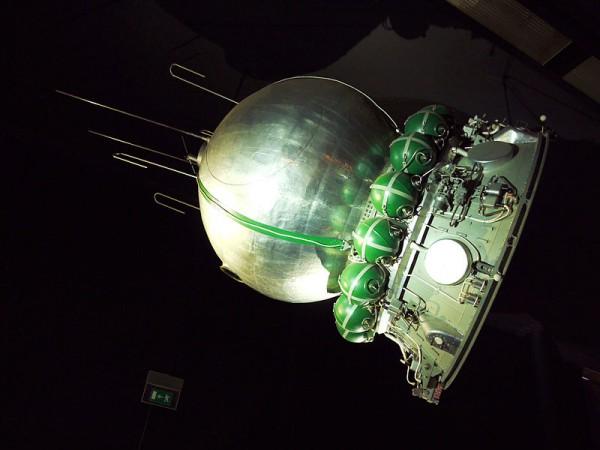 Макет космического корабля Восток-1 в парижском музее