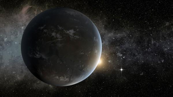 Kepler-62f глазами художника