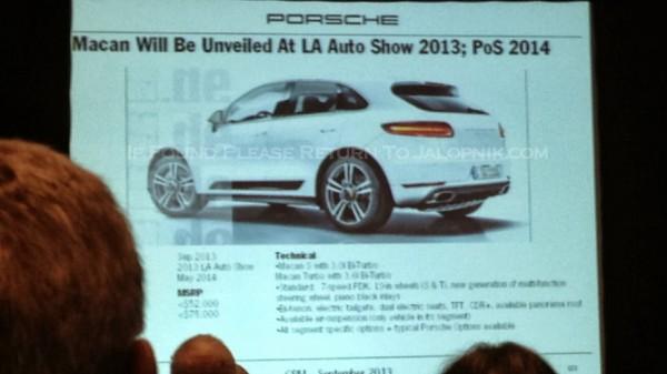 Презентация Porsche Macan