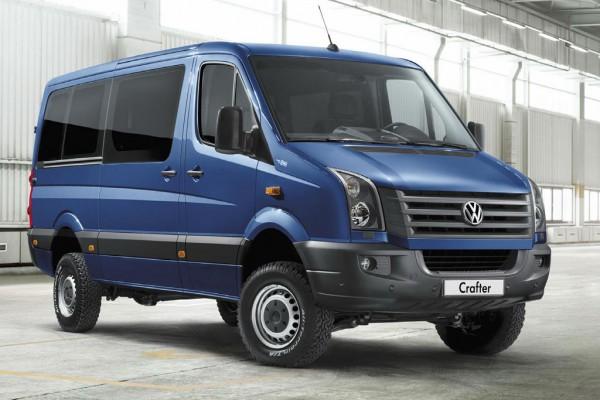 Volkswagen Crafter обошелся государству в 764 000 грн