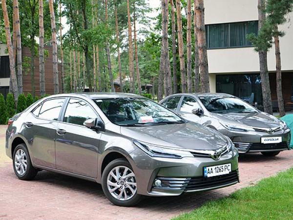 В Украине презентовали обновленную Corolla
