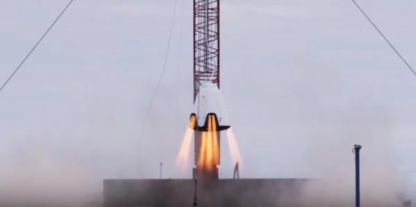 SpaceX испытали новый двигатель