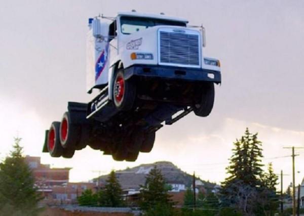 Полет грузовика
