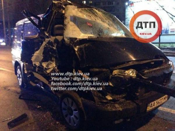 Пьяная авария в Киеве