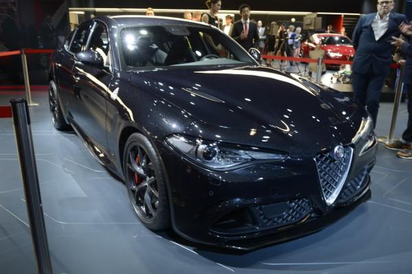 Alfa Romeo Giulia во Франкфурте