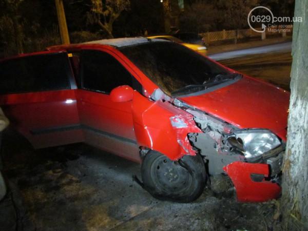 Разбитый Hyundai