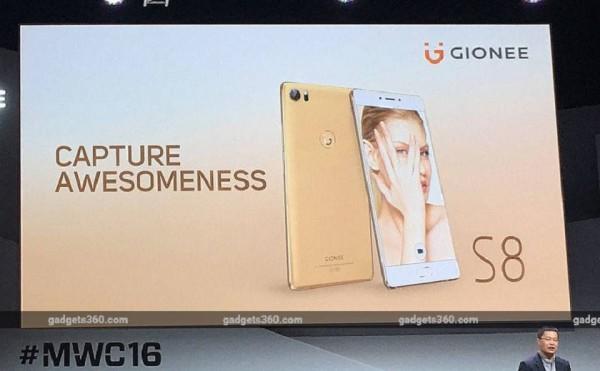 Презентация Gionee S8