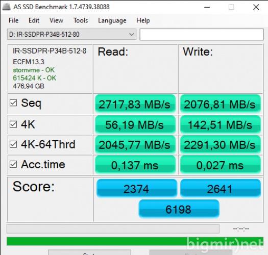 Обзор GOODRAM SSD IRDM M.2 512 Гб