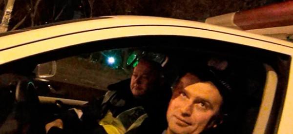 Гаишники сначала отпустили водителя, а потом повезли в наркологию