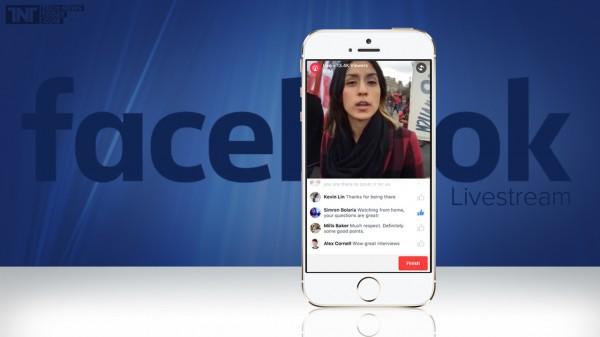 Facebook запустил онлайн-трансляции для всех