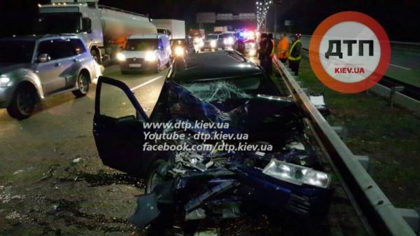 Авария на Бориспольской трассе