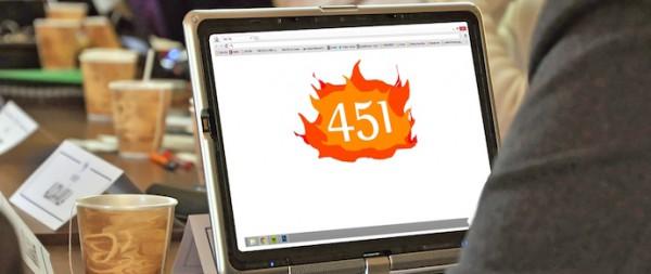 Код 451 покажет, что страница заблокирована решением правительств