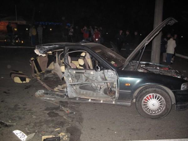 Погибла пассажирка Honda. 24-летний водитель не пострадал.