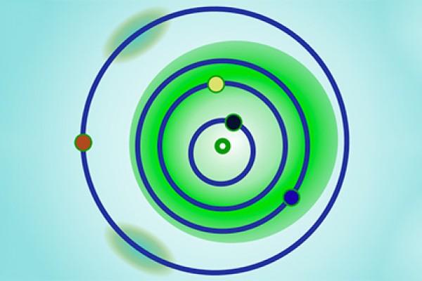Местоположение аполлонов отмечено зеленым цветом