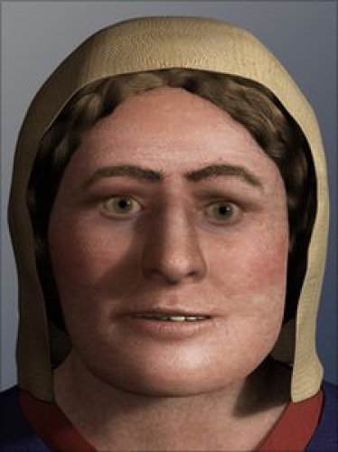 Лицо женщины-викинга