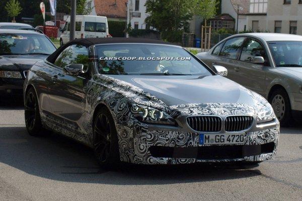 Новый BMW M6 проходит испытания