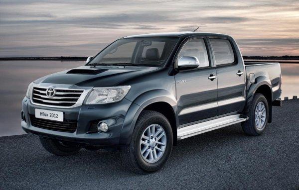 В продажу обновленный Toyota Hilux поступит осенью