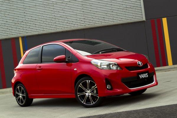 Новый Toyota Yaris выходит на мировой рынок