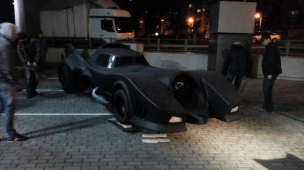Бэтмобиль в Харькове