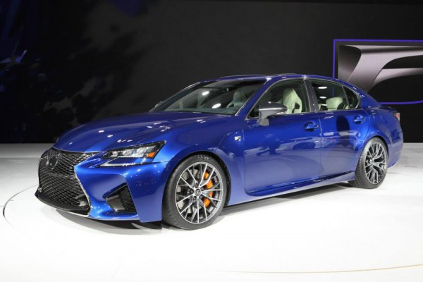 Новый Lexus GS F в США