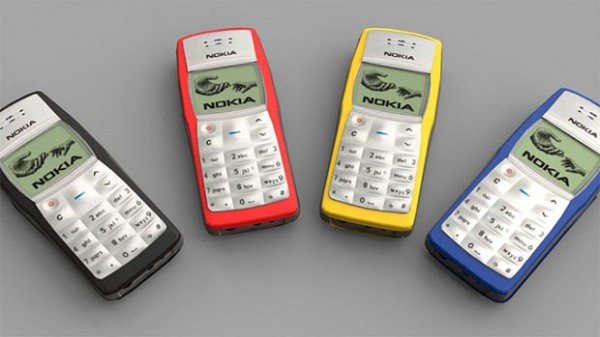 Nokia 1100 признан самым популярным телефоном
