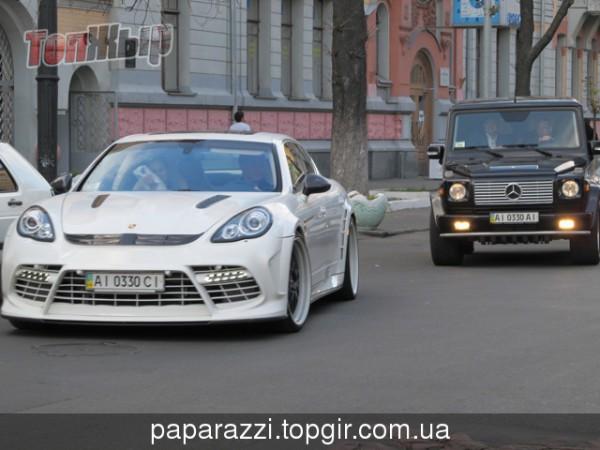 Porsche Panamera Moby Dick