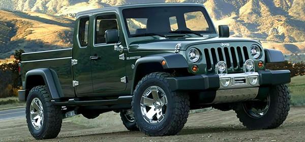 Пикап на базе Jeep Wrangler