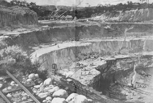 Сооружение Панамского канала