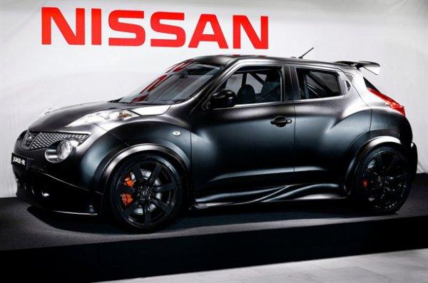 Двигатель и коробку Nissan Juke R получил от купе GT-R