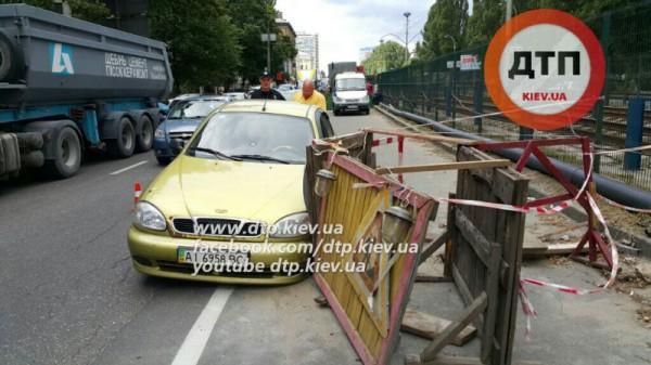ДТП в Киеве на Соломенке