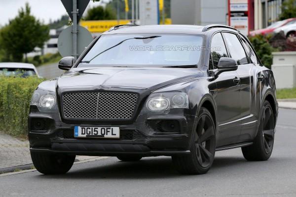 «Заряженная» версия Bentley Bentayga