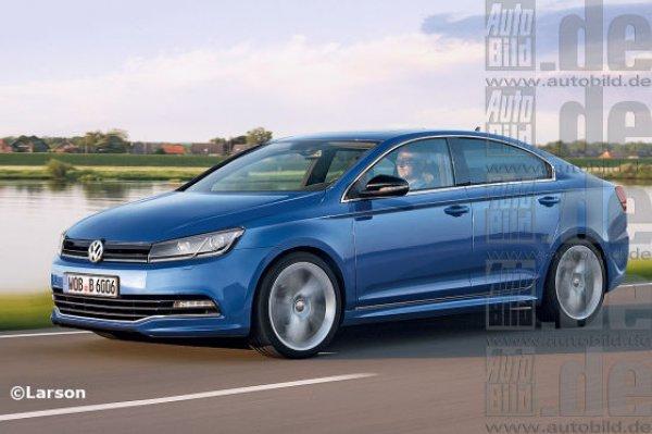 Предполагаемый дизайн Volkswagen Golf СС