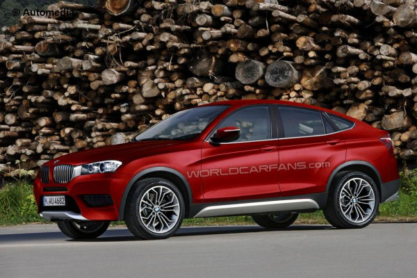 Неофициальная иллюстрация BMW X4 – «младшего брата» X6