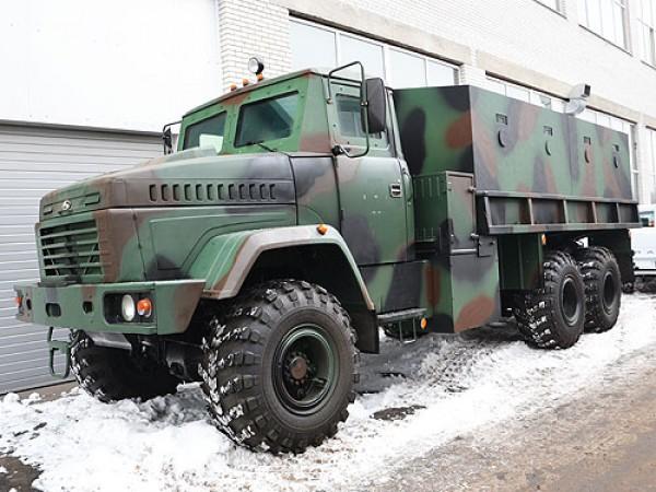 Модернизированный КрАЗ
