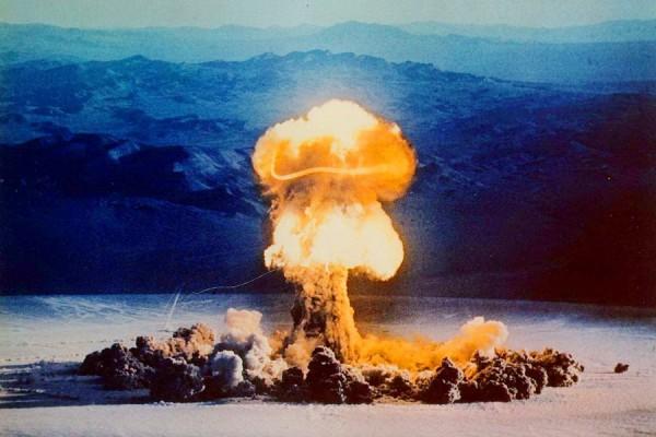 Испытание водородной бомбы
