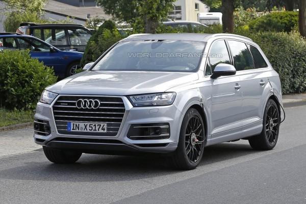 Audi SQ7 без маскировки