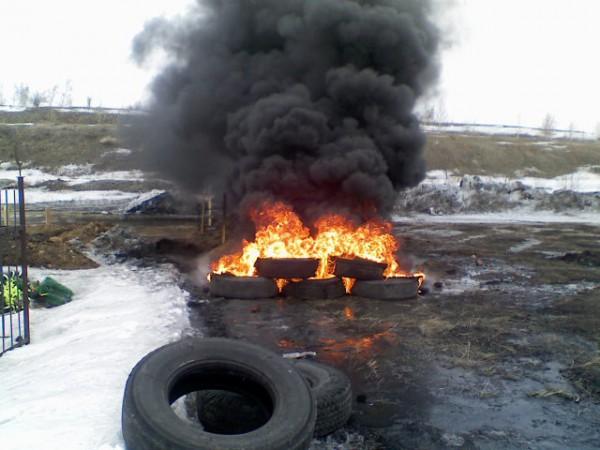 В Украине шины дешевле просто выбросить, чем с пользой переработать