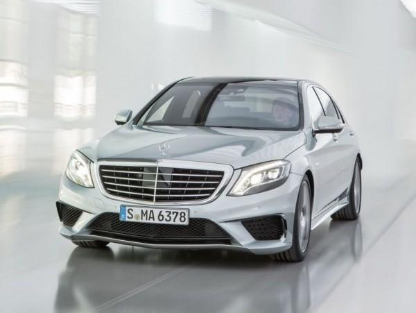 Mercedes S63 AMG нового поколения имеет 585 л.с.
