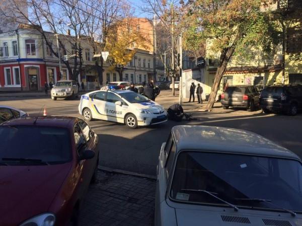 Полиция сбила пенсионера в Днепре