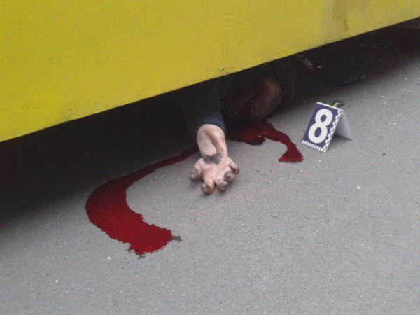 Мужчина попал под колеса Богдана и погиб на месте
