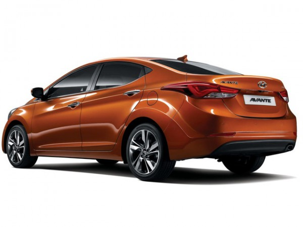 Обновленный Hyundai Avante (Elantra)