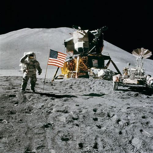 Миссия Аполлон-17 на Луне