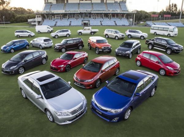 Тойоты сохраняют лидерство на рынке