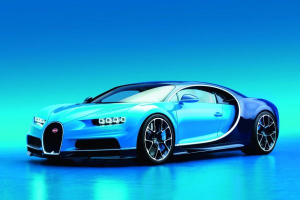 Новый суперкар Chiron от Bugatti