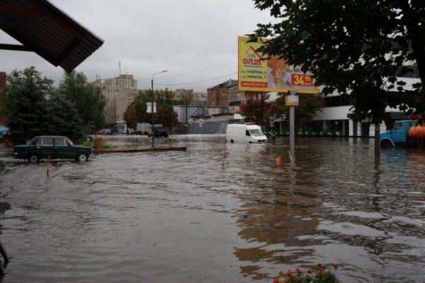 Затопленный Куреневский переулок